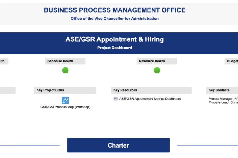 ASE/GSR Appointment Dashboard