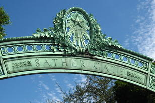 Sather Gate at UC Berkleey